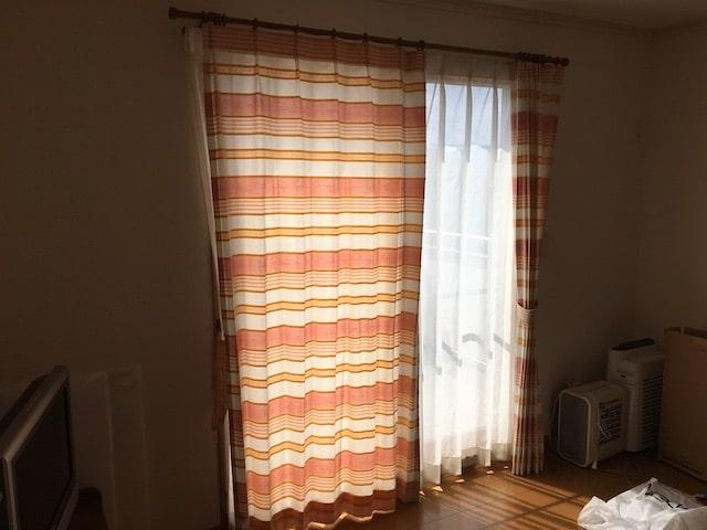子ども部屋のカーテン