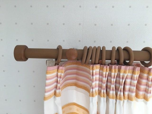 子ども部屋のカーテンレール