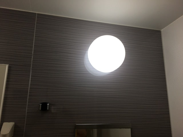 お風呂の照明