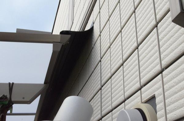 テラス屋根取付け⑪