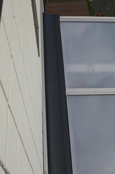 テラス屋根取付け⑫