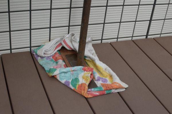 テラス屋根取付け⑥