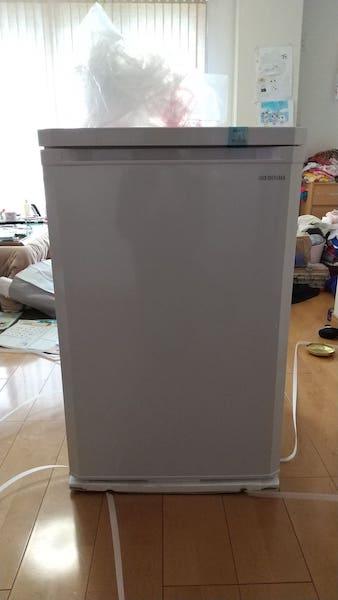アイリスオーヤマの冷凍庫本体