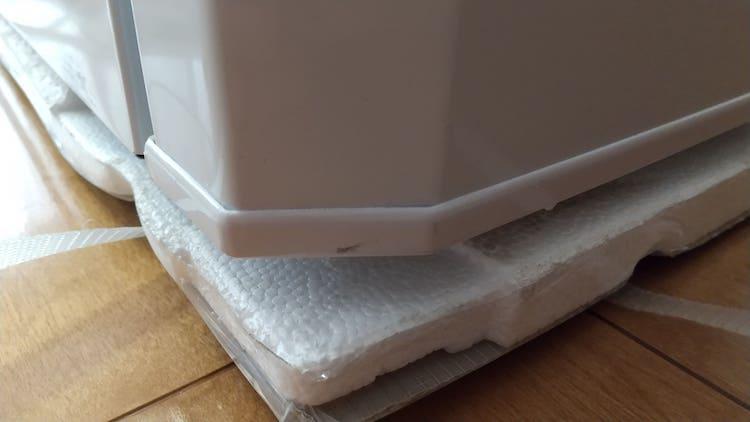 冷凍庫の汚れ①