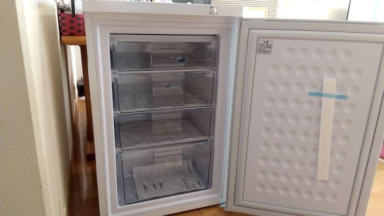 購入したアイリスオーヤマの冷凍庫