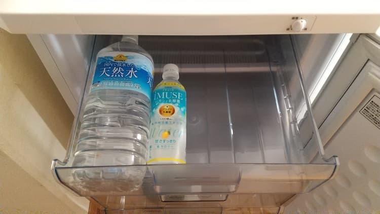 冷凍庫のトレイ1段目
