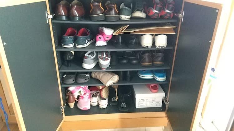 一番使う靴収納スペース