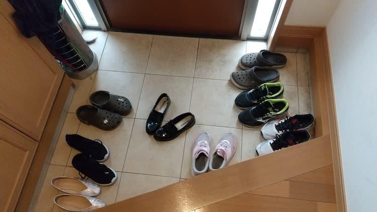 靴収納に入れてない靴