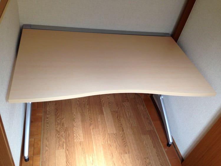オフィス家具メーカーの中古デスク天板
