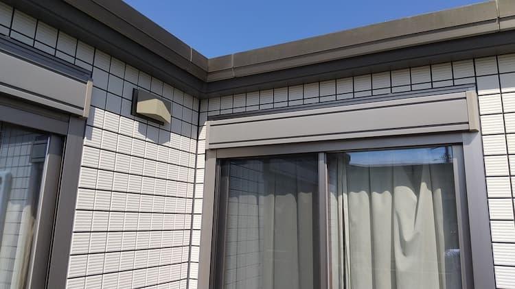 我が家の2Fの窓外側